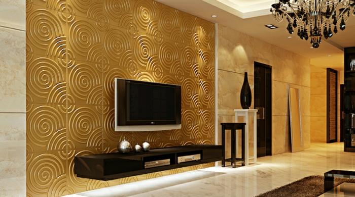 wandpaneele wohnzimmer. Black Bedroom Furniture Sets. Home Design Ideas