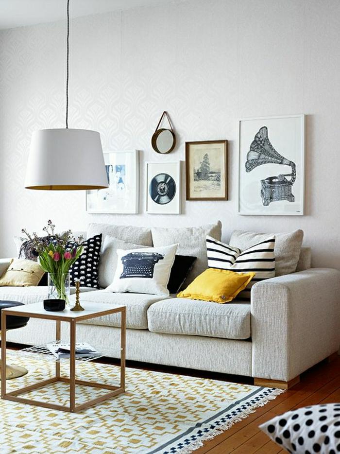 Einrichtungsideen fürs Wohnzimmer in 45 Fotos - Archzine.net