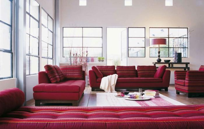 zimmer-inspirationen-wunderschöne-rote-möbelstücke