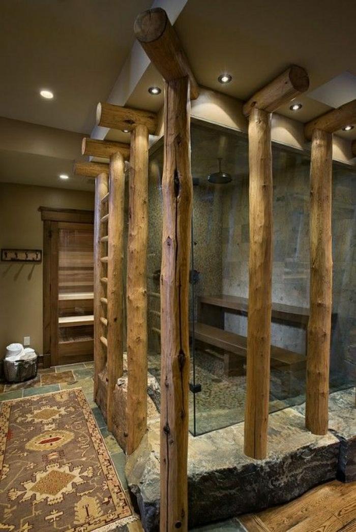 Die Duschkabine Im Badezimmer Ist Ein Muss Archzine Hause Ideen   Badezimmer  Stein