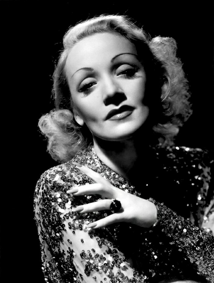 Hollywood-Schauspielerinnen-Film-The-Blue-Angel-Marlene-Dietrich
