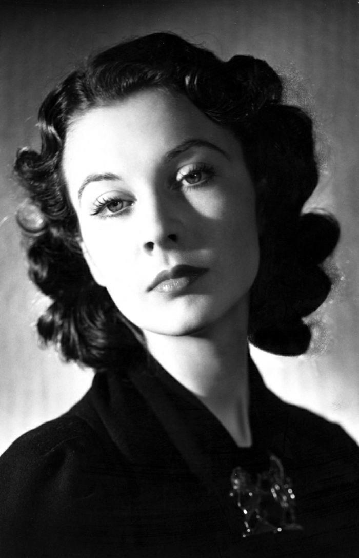 Hollywood-Schauspielerinnen-Vivien-Leigh-vintage-schön