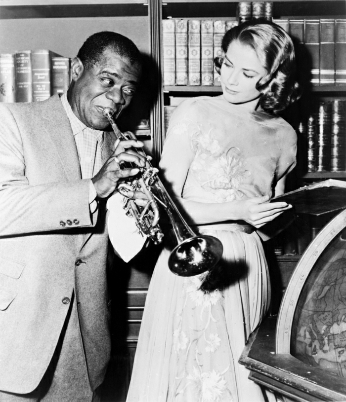 Louis-Armstrong-Grace-Kelly-Set-High-Society-Film