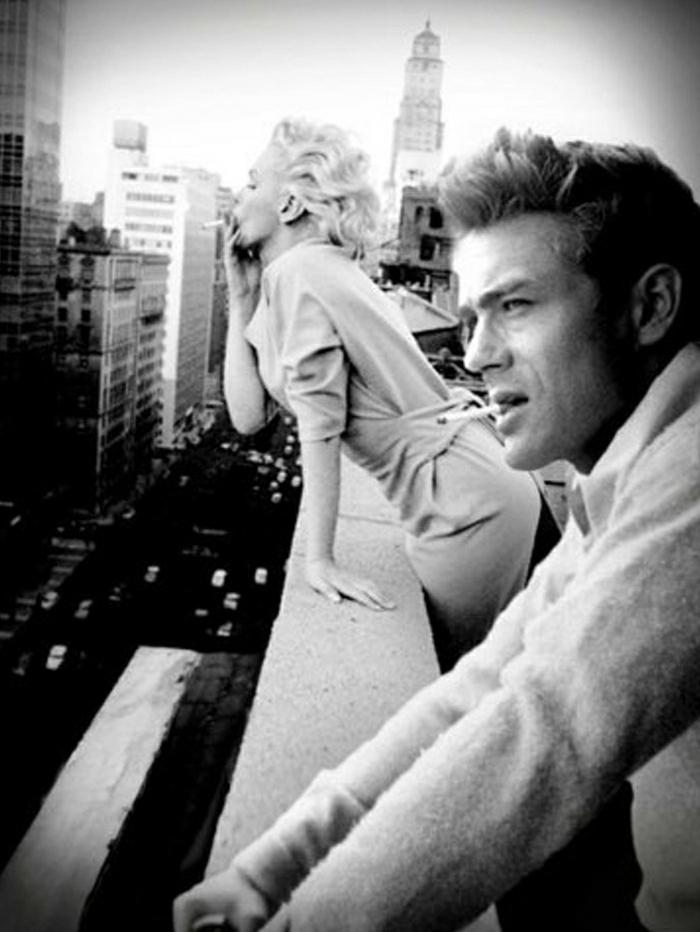 Marilyn-Monroe-James-Dean-Hollywood-Legenden