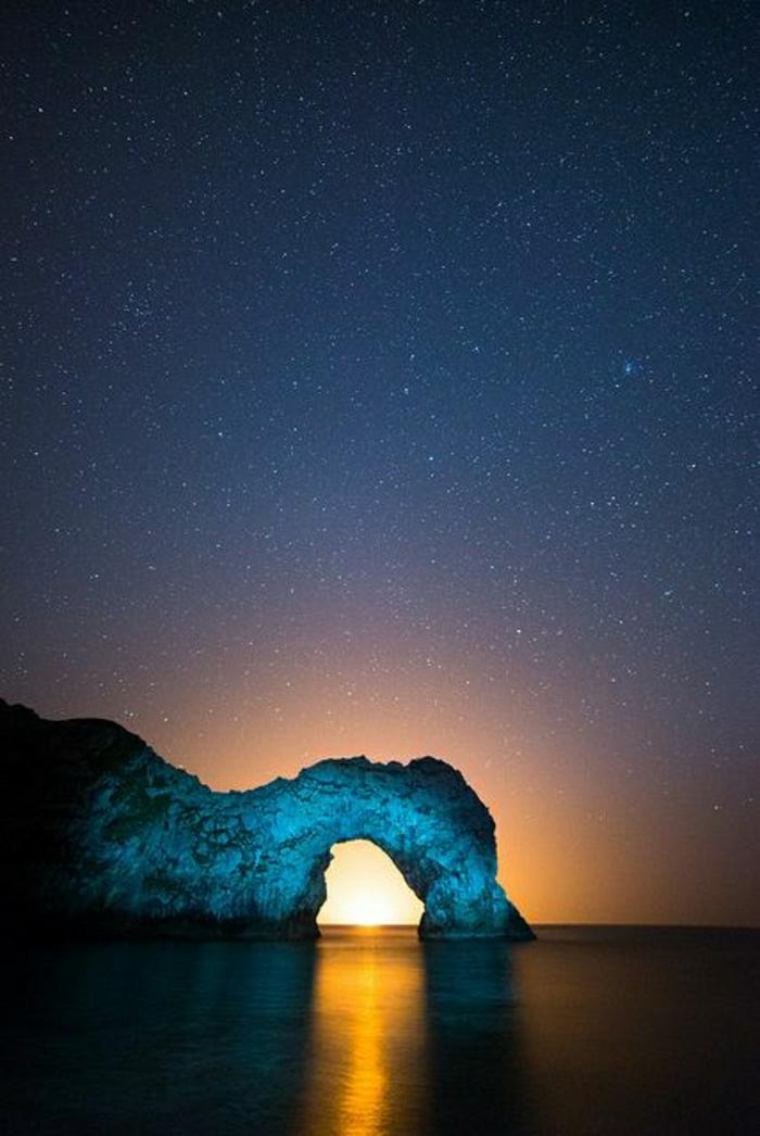 Sonnenuntergang-Backlit-Durdle-Door-Jurassic-Coast-England