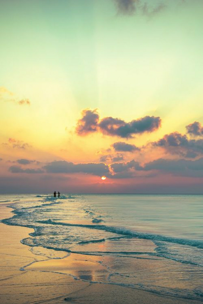 Sonnenuntergang-Ozean-Anna-Maria-Insel