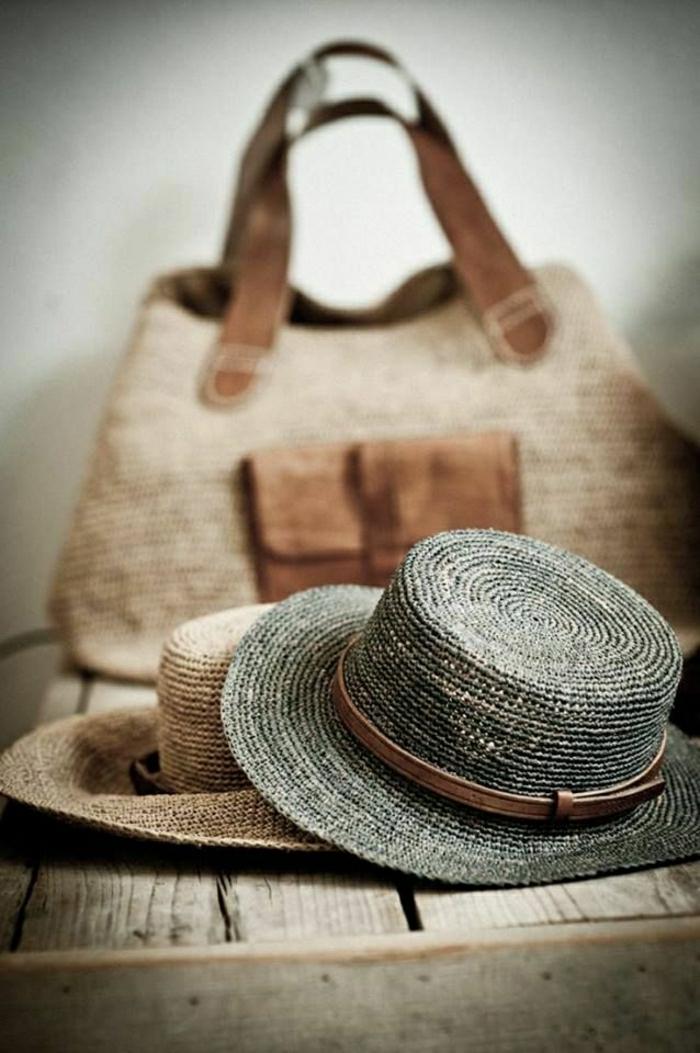Strohhüte-damen-sonnenhut-herren-stilvoll-schick-Sommertasche