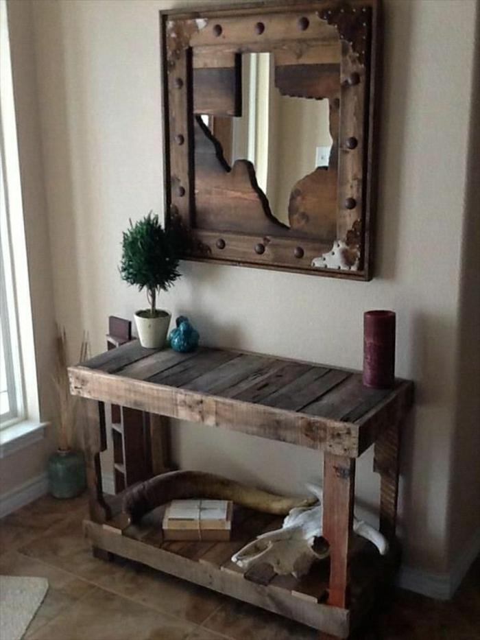 Toilettentisch-Spiegel-Holz-Paletten-rustikal