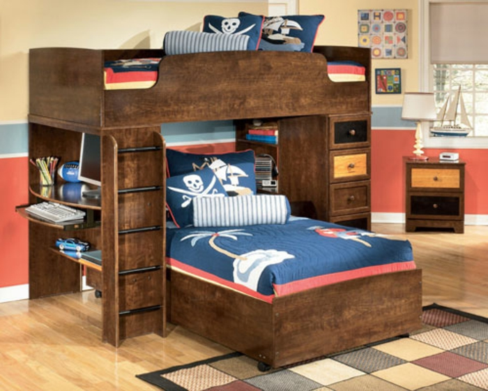 25 ausgefallene kinderbetten zum inspirieren. Black Bedroom Furniture Sets. Home Design Ideas