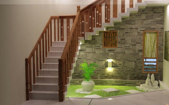 ausgefallene-wandgestaltung-schöne-treppen