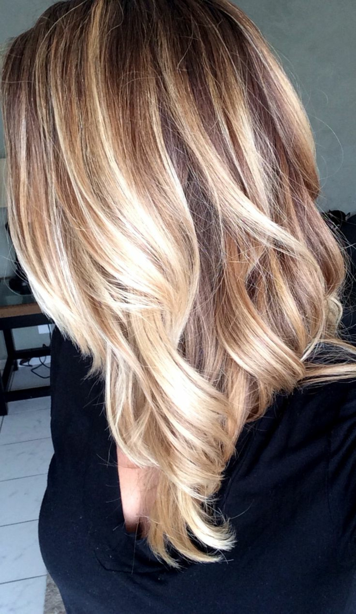 balayage highlights hair hairs picture gallery