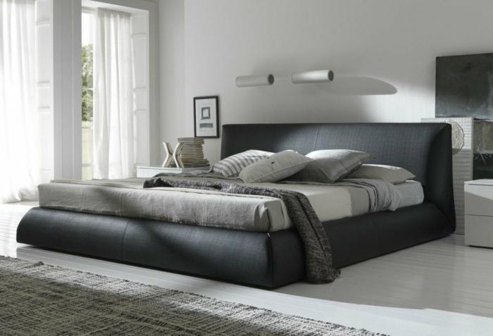 sch nes bett gestalten 40 tolle ideen. Black Bedroom Furniture Sets. Home Design Ideas