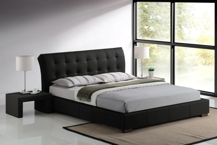 sch nes bett gestalten 40 tolle ideen. Black Bedroom Furniture Sets. Home Design Ideas