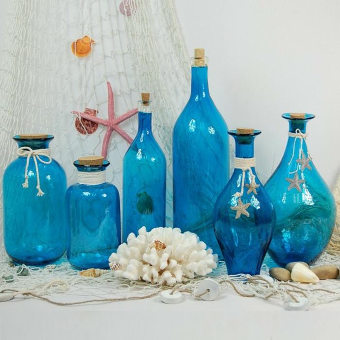 blaues-glas-super-schöne-flaschen