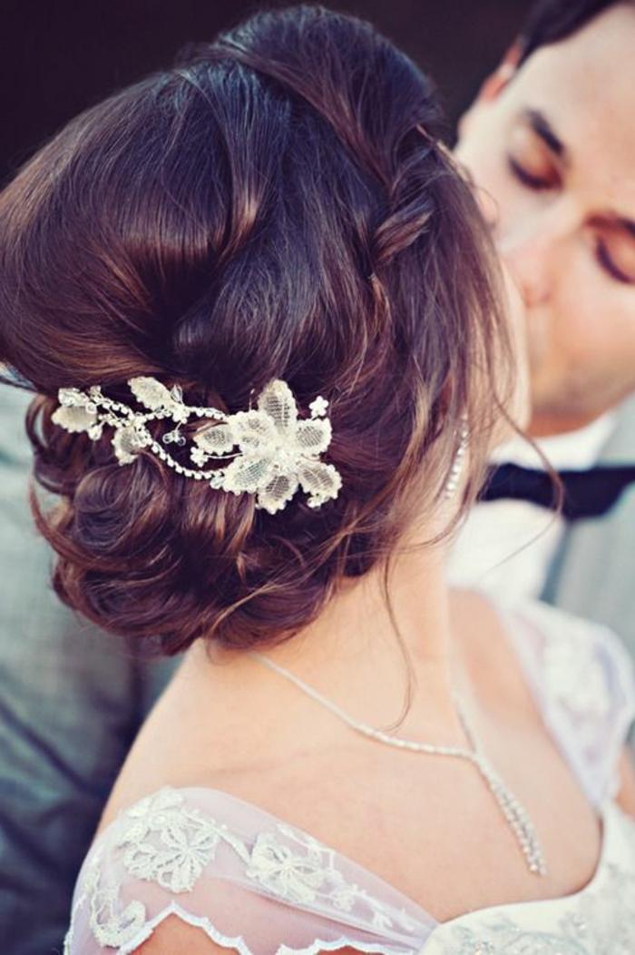 Hochzeitsfrisuren Schwarze Haare Mittellange Haare