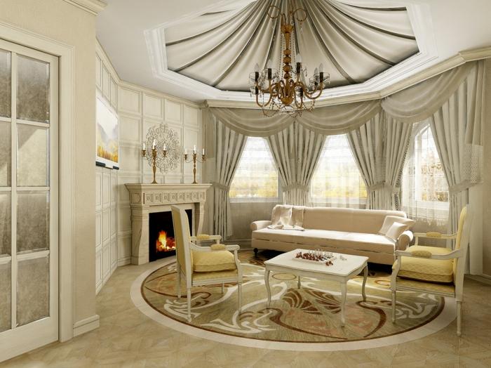 elegantes-wohnzimmer-luxuriöse-gestaltung
