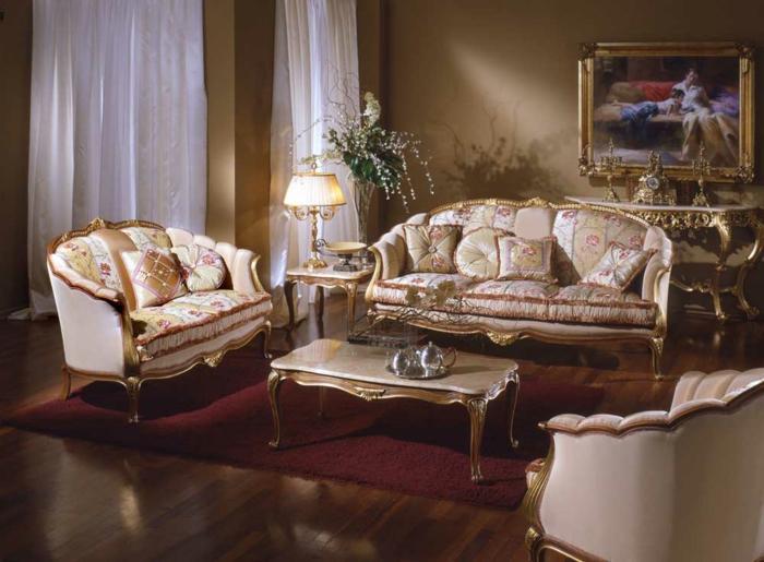 elegantes-wohnzimmer-retro-modell