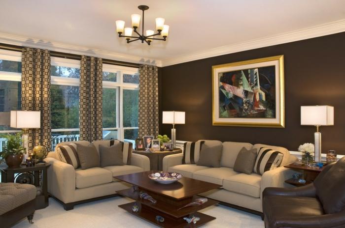Lovely 64 Beispiele Für Elegantes Wohnzimmer!