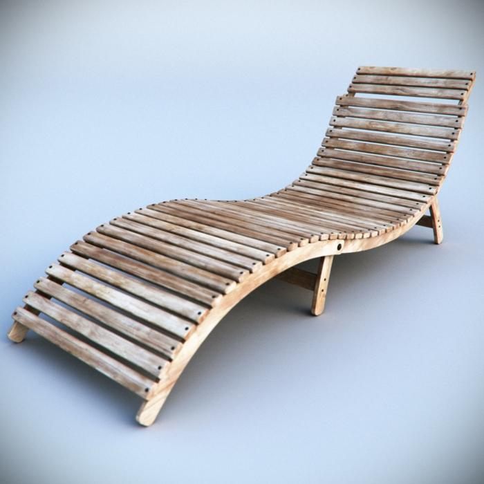 Wunderschönen Gartenliege Holz Selber Bauen | Gartenbänke Ideen
