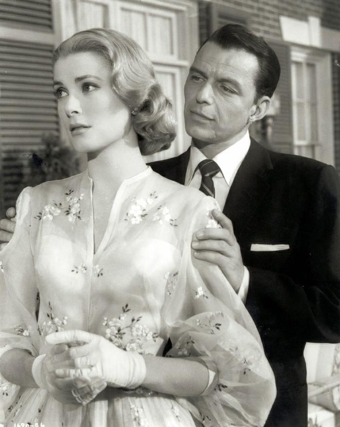 grace-kelly-frank-sinatra-Film-retro-Legenden-Hollywood