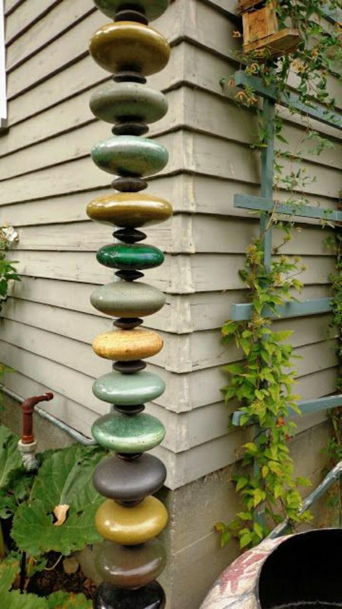 hängende-keramische-Dekoration-Garten-Hof