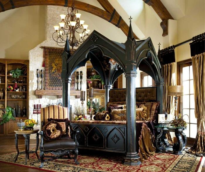 himmelbett baldachin 71 einmalige fotos. Black Bedroom Furniture Sets. Home Design Ideas