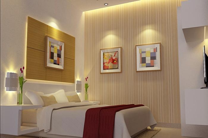 Yarial.com = Indirekte Beleuchtung Im Schlafzimmer ~ Interessante Ideen für die Gestaltung eines ...
