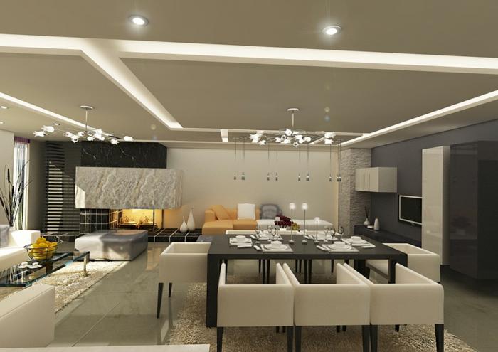 schlafzimmer grau streichen inneneinrichtung ideen graue zimmerdecke - Schlafzimmer Grau Streichen