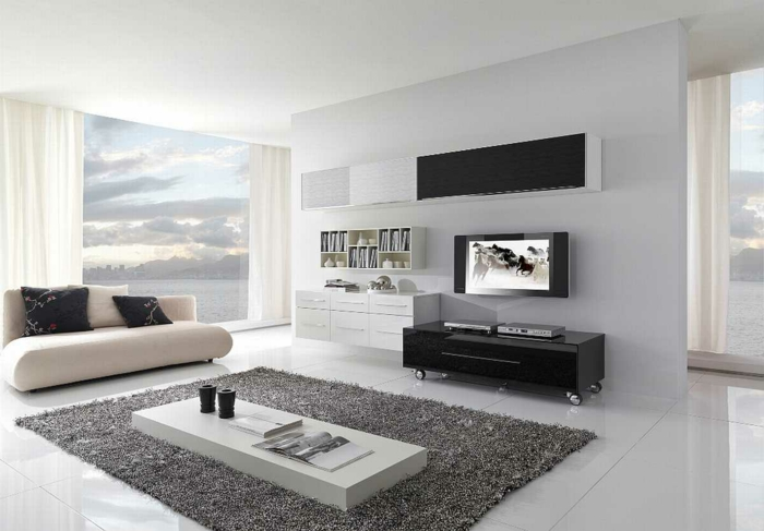 teppich ideen wohnzimmer | möbelideen, Hause deko