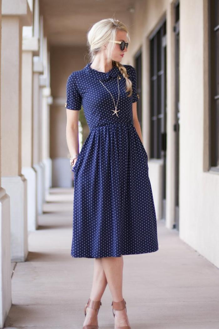 26 süße Beispiele für gepunktetes Kleid! - Archzine.net