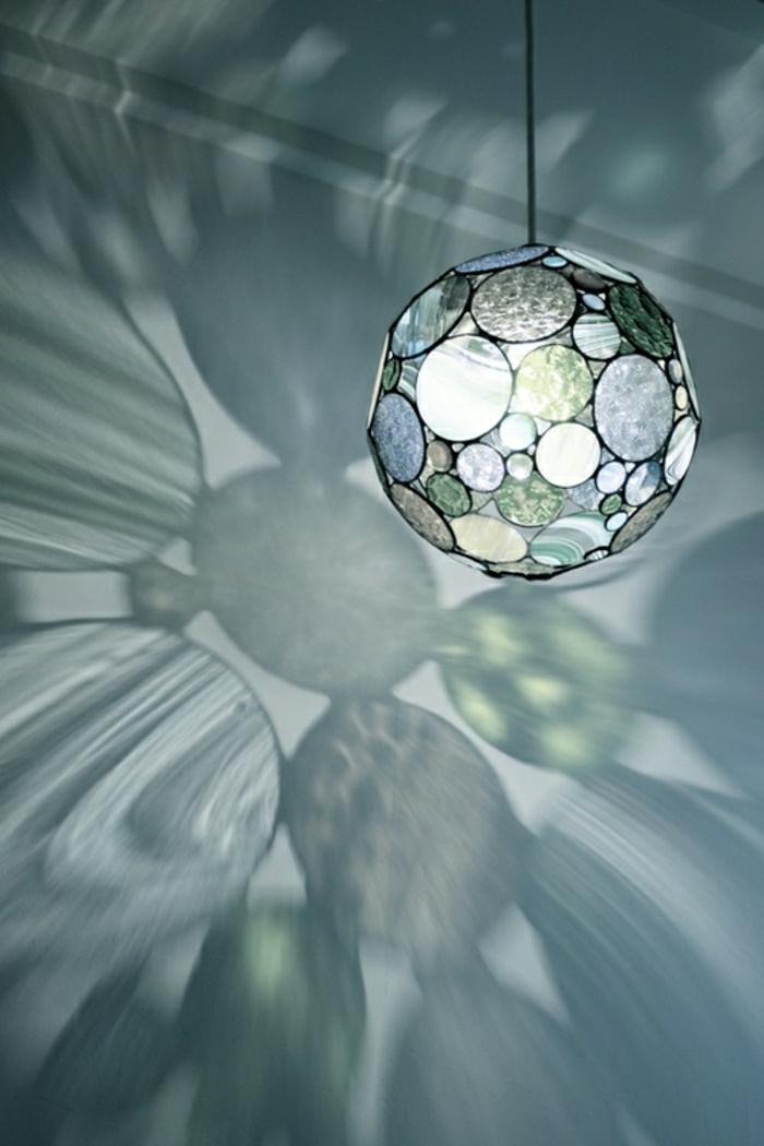 leuchtender-Globus-Glas-Disko-Ball-Effekt