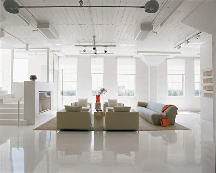 inneneinrichtung ideen ~ moderne inspiration innenarchitektur und ... - Loft Einrichten Beispiele