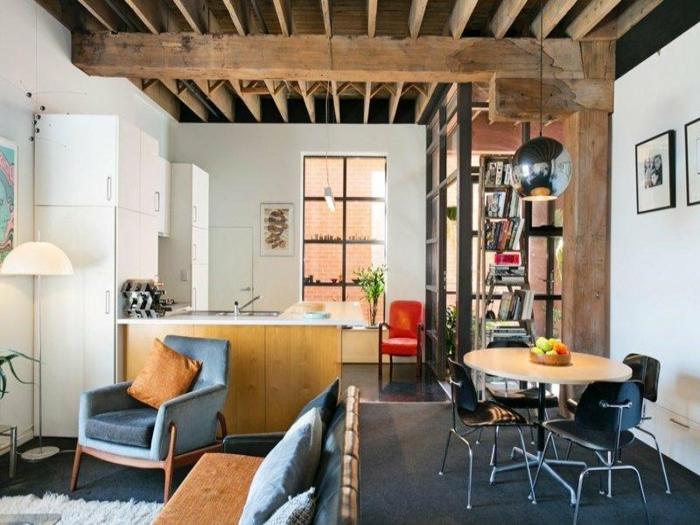 loft einrichten ~ kreative bilder für zu hause design-inspiration, Innenarchitektur ideen