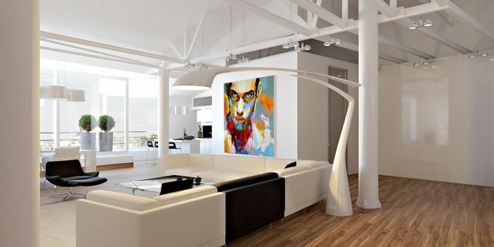 loft einrichten 92 verblffende ideen archzine haus garten. loft, Wohnzimmer design