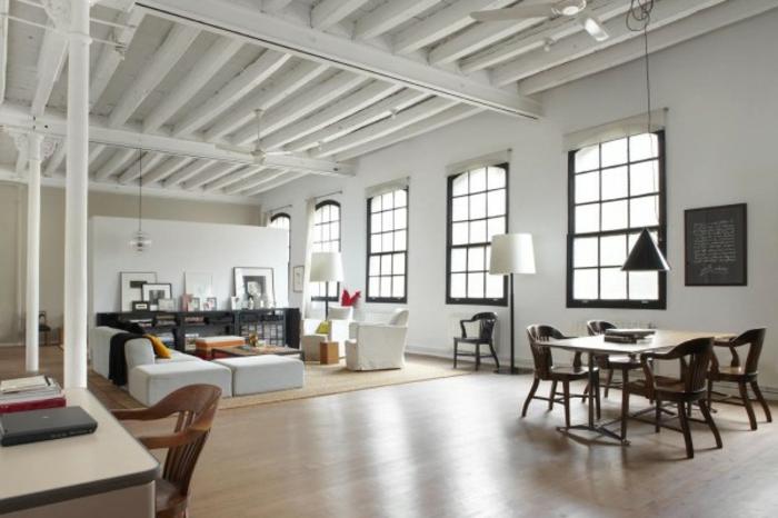 loft einrichten 92 verbl ffende ideen. Black Bedroom Furniture Sets. Home Design Ideas