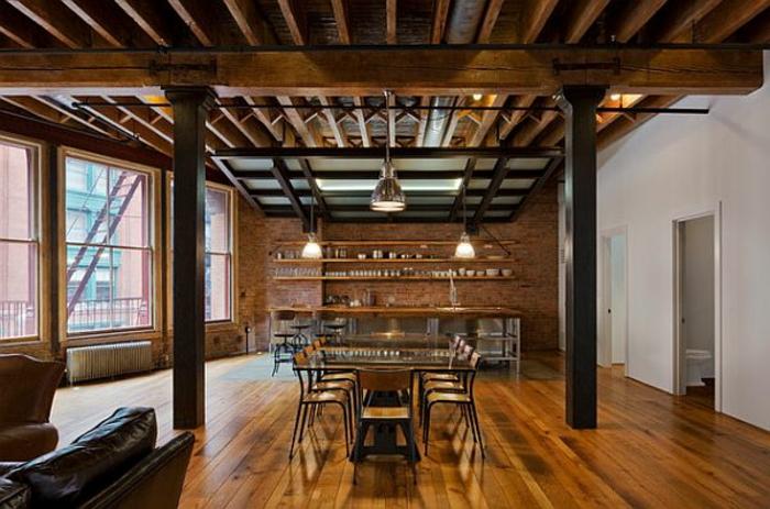 Gut Loft Einrichten Beispiele ~ Kreative Deko Ideen Und Innenarchitektur,  Wohnzimmer Design