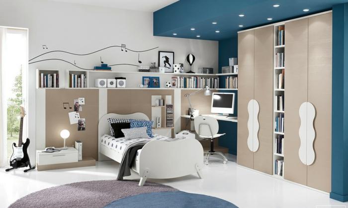 Moderne Luxus Jugendzimmer Mädchen ~ luxus jugendzimmer mit modernen deckenleuchten