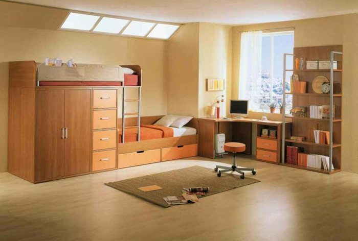 warme farben fur jugendzimmer. Black Bedroom Furniture Sets. Home Design Ideas