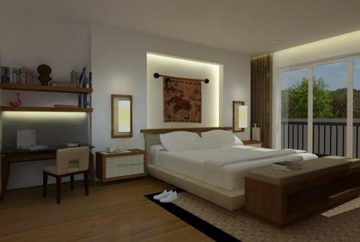 badlampe deckenlampe led modern rund schwarz leuchten schlafzimmerlampe wohnzimmerlampe decke. Black Bedroom Furniture Sets. Home Design Ideas