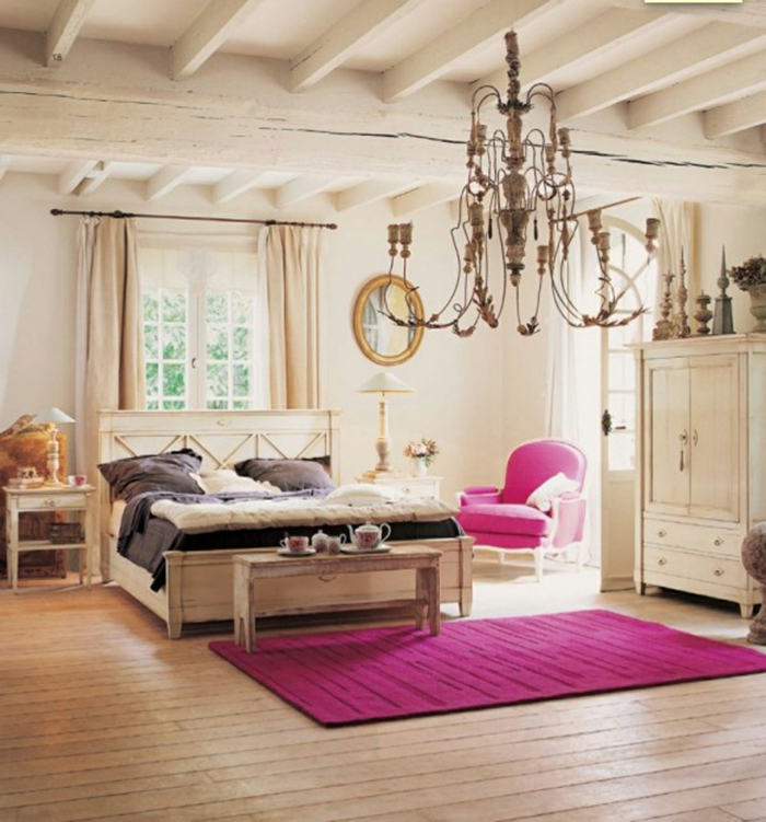 luxus-jugendzimmer-rosiger-teppich