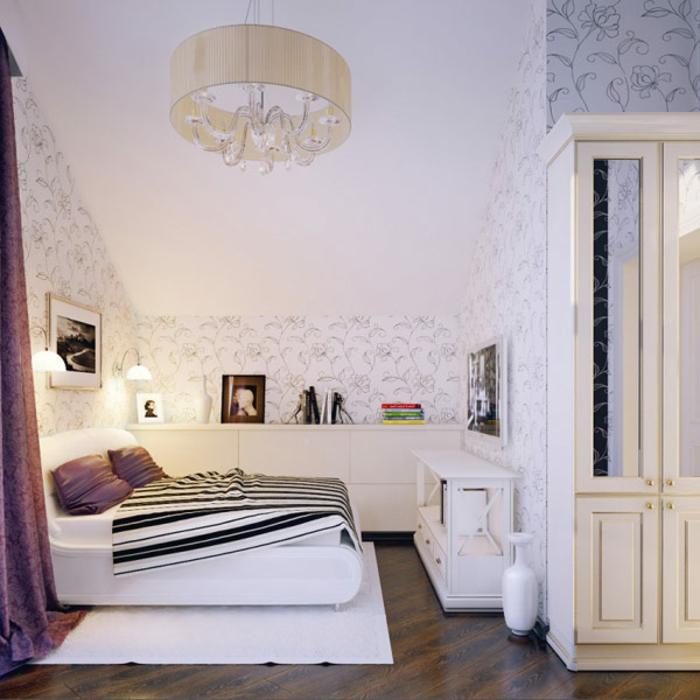 44 tolle ideen f r luxus jugendzimmer - Jugendzimmer tapezieren ...