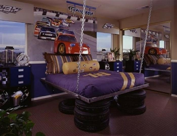 luxus-jugendzimmer-sehr-extra vagantes-bett-modell