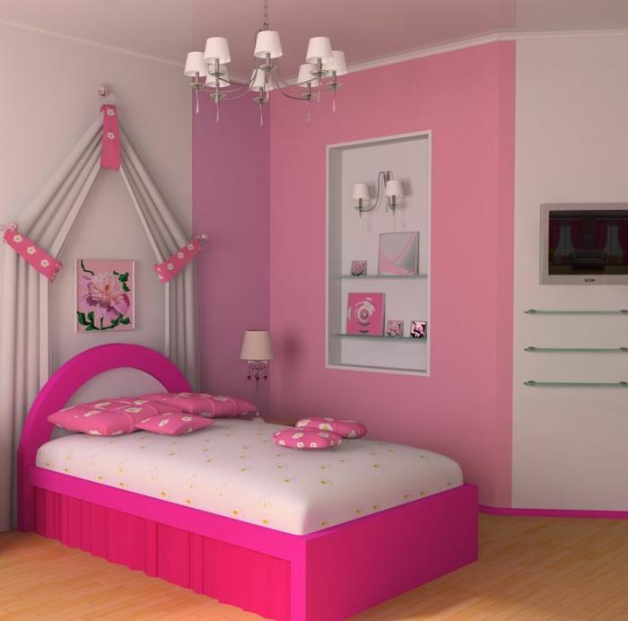 luxus-jugendzimmer-zyklamenfarbe Luxus Jugendzimmer