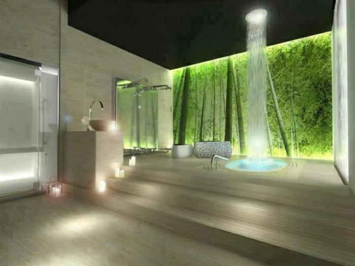 luxus-waschbecken-grüne-wand-schöne-gestaltung