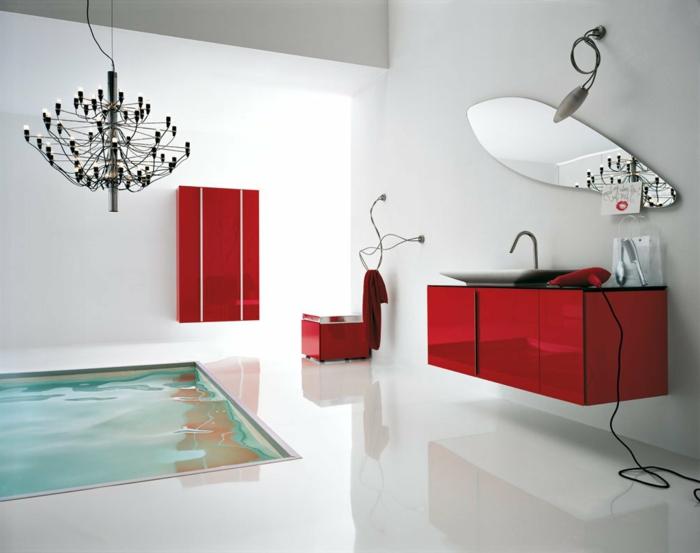 luxus-waschbecken-rote-schränke