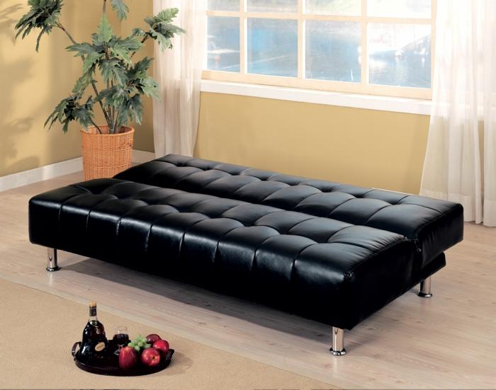 möbel-mit-schlaffunktion-schwarzes-sofa-aus-leder