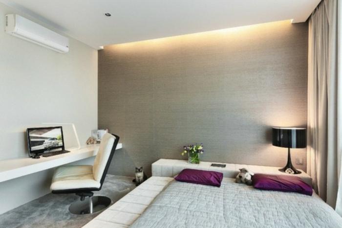 Indirekte Beleuchtung Wohnzimmer Bilder : sehr interessantes helles schlafzimmer - indirekte beleuchtung