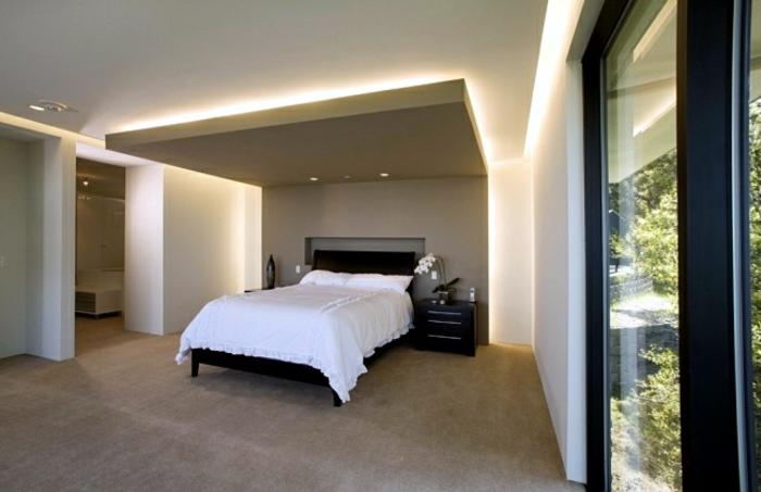 Attraktives Schlafzimmer Indirekte Beleuchtung Pictures