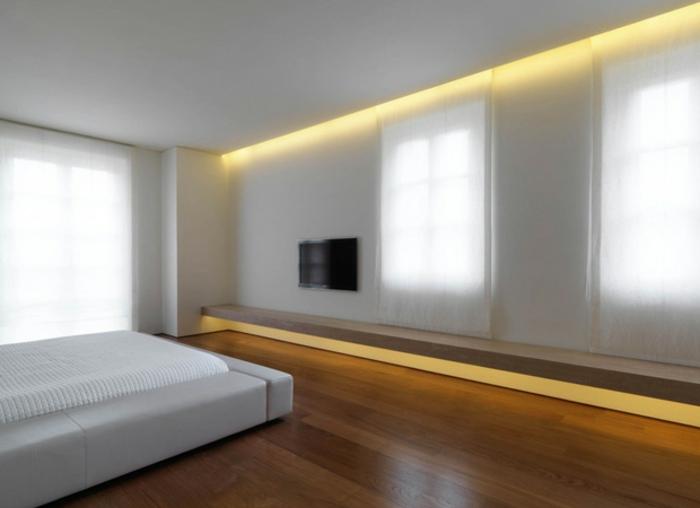 indirekte beleuchtung im schlafzimmer interessante ideen f r die gestaltung eines. Black Bedroom Furniture Sets. Home Design Ideas