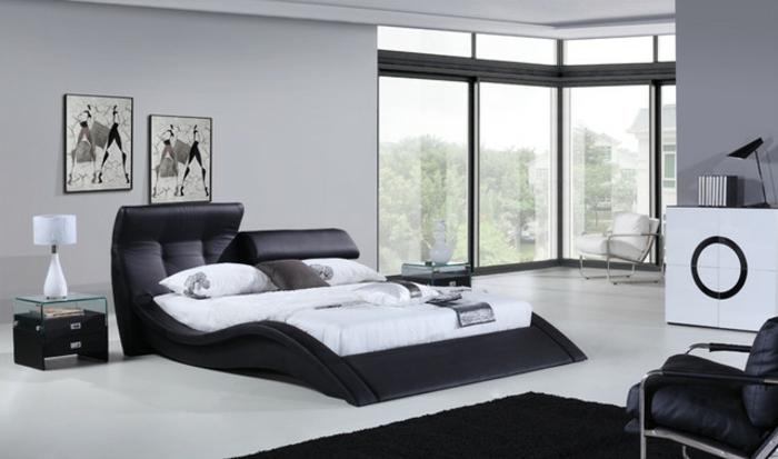Modernes Design Von Bett